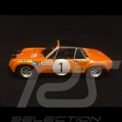 Porsche 914 6 Rallye Monte Carlo 1971 n° 1 Larrousse 1/43 Minichamps 400716501
