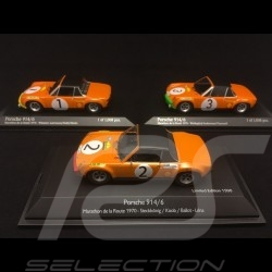 TRIO Porsche 914 6 Marathon de la route 1/43 Minichamps Schuco 400706501 400706503 450369900