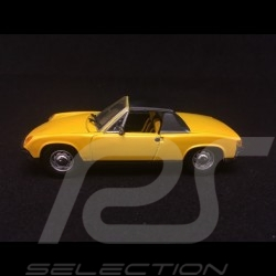 Porsche 914 4 2.0 1969 jaune signal 1/43 Detail Cars 343