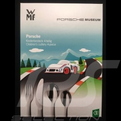 Porsche couverts pour enfant Porsche 935 cutlery for kids besteck für kinder MAP07003916 - Set de 4