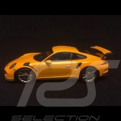 Porsche 991 GT3 RS jaune signal 1/43 Minichamps CA04316046