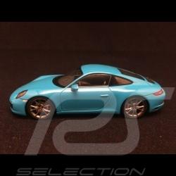 Porsche 991 Carrera S 2016 blue 1/43 Spark S4937