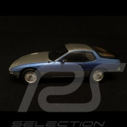 Porsche 924 turbo bicolor silver / blue metallic 1/43 Spark MAP02020816