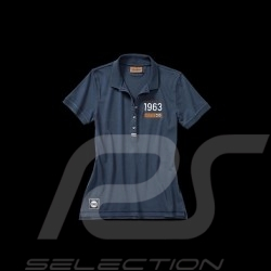 Polo shirt Porsche Classic navy blue Porsche Design WAP717 - ladies