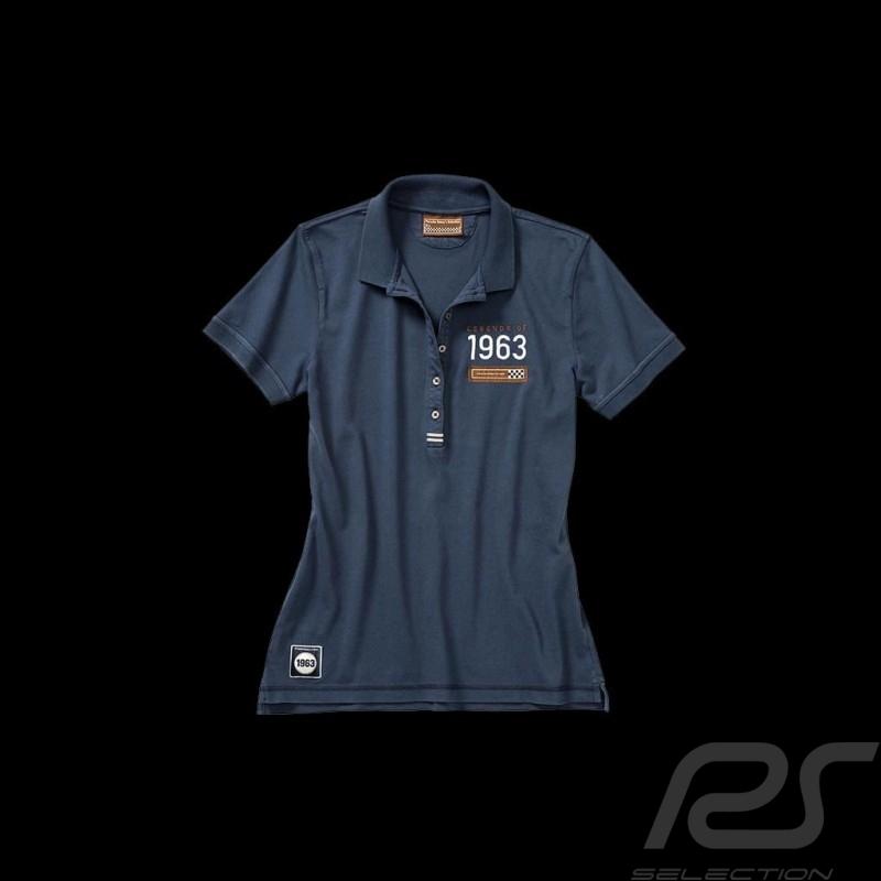 Polo shirt Porsche Classic navy blue WAP717 - ladies