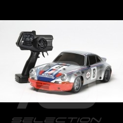 Porsche 911 Carrera RSR Martini n° 8 argent radiocommandée 2.4 GHz 1/10 Taiya 57866 RC Car RC-Fahrzeug