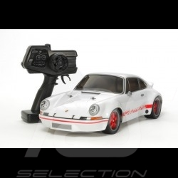Porsche 911 Carrera RSR blanche radiocommandée 2.4 GHz 1/10 Tamiya 57874