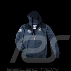 Veste hoodie Martini Racing bleu marine homme Porsche Design WAP555
