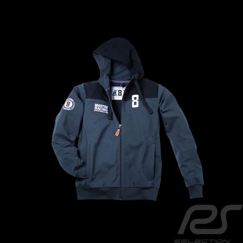 Veste hoodie Martini Racing bleu marine homme Jacket sweatshirt Porsche Design WAP555