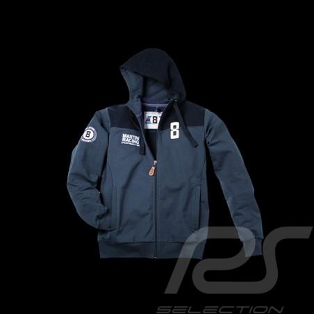 Jacke Sweatshirt Hoodie Martini Racing marineblau Herren Porsche Design WAP555