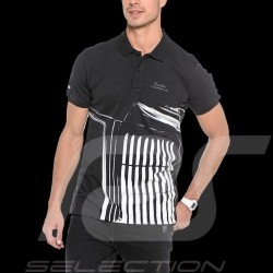 Polo Porsche Design Turbo graphic design Adidas black - men - S00340
