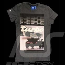 T-shirt Porsche Design Porsche Turbo Adidas gris - homme - M63074