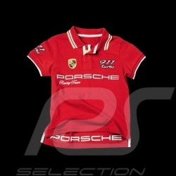 Polo Porsche 911 Turbo rouge - enfant - Porsche Design WAP675 kid kinder
