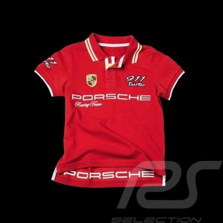 Polo Porsche 911 Turbo rouge - enfant - Porsche Design WAP675 kid kinder