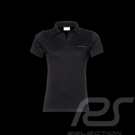 Porsche polo shirt classic black - women -Porsche Design WAP745