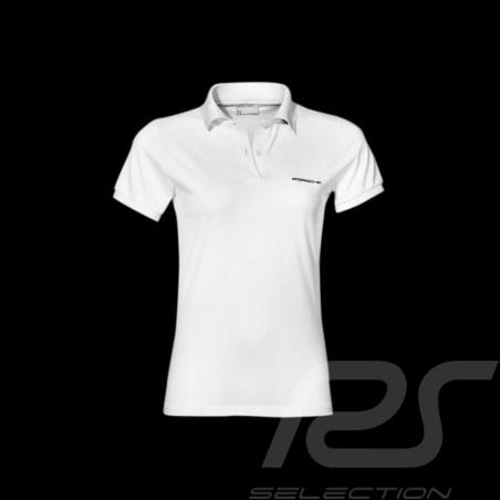 Porsche polo shirt classic white Porsche Design WAP746B - woman