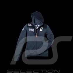 Veste hoodie Martini Racing bleu marine femme Porsche Design WAP554