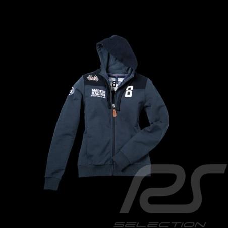 Jacket sweatshirt hoodie Martini Racing navy blue Women Porsche Design WAP554
