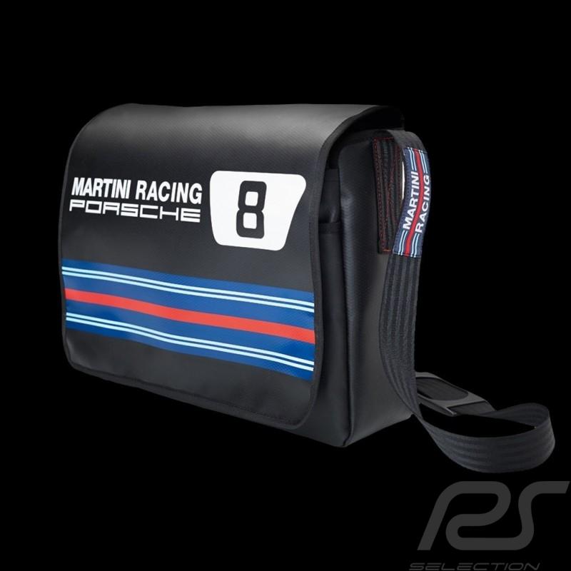 Sac Porsche Martini Racing Messenger bag n° 8 noir Porsche Design WAP0505710G