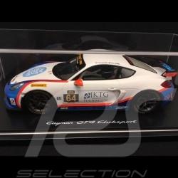 Porsche Cayman GT4 Clubsport n° 64 Team TGM 1/18 Spark WAX02100020