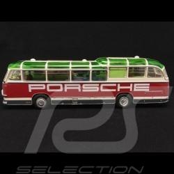 Bus Neoplan FH 11 Porsche renndienst rot / weiß 1/43 Schuco 450896600