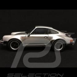 Porsche 930 turbo 3.3 1977 gris argent 1/18 NOREV 187574
