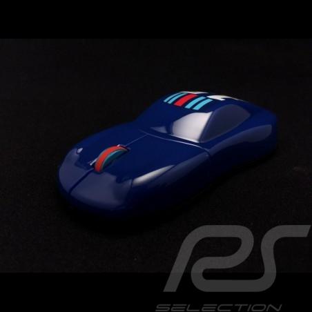 Porsche Design Souris sans fil Wireless mouse Kabellose Maus Martini Racing bleue WAP0408100F