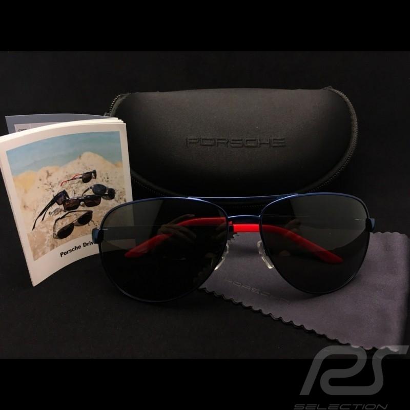 49ad910cca3 Porsche Design lunettes de soleil Martini racing pilote Aviator sunglasses  Pilotensonnenbrille WAP0750220C