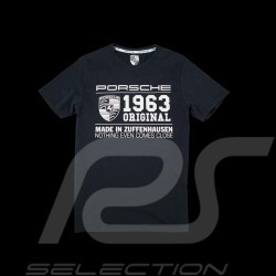 T-shirt Porsche classic 1963 dark grey Porsche WAP983H - men