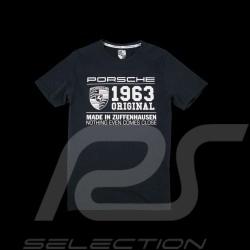 T-shirt Porsche classic 1963 gris foncé dark grey dunkelgrau Porsche design WAP983 homme men herren