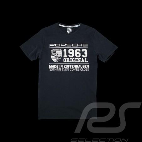 T-shirt Porsche classic 1963 dunkel grau Porsche WAP983H - Herren