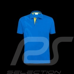 Polo shirt Porsche 911 bleu royal blue konigsblau Porsche design WAP984 homme men herren