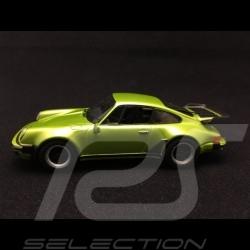 Porsche 911 type 930 Turbo 3.3 1977 vert tilleul linden green lindgrün 1/43 Minichamps CA04316039
