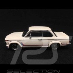 BMW 2002 Turbo 1973 blanche bandes Motorsport 1/43 Minichamps 940022201