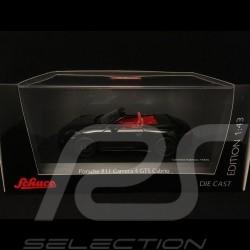 Porsche 911 type 991 Carrera 4 GTS Cabriolet noire black schwarz 1/43 Schuco 450758700