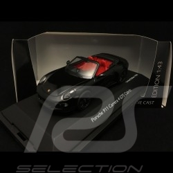 Porsche 911 type 991 Carrera 4 GTS Cabriolet black 1/43 Schuco 450758700