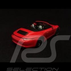 Porsche 911 type 991 Carrera 4 GTS Cabriolet Indischrot 1/43 Schuco 450758600