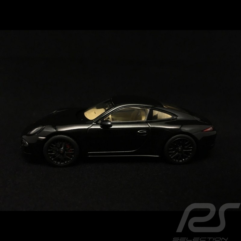 Porsche 911 type 991 Carrera 4 GTS Coupé black 1/43 Schuco 450758200