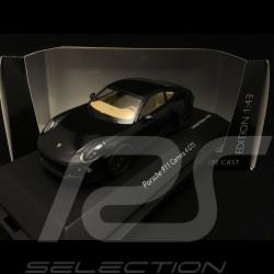 Porsche 911 type 991 Carrera 4 GTS Coupé noire black schwarz1/43 Schuco 450758200