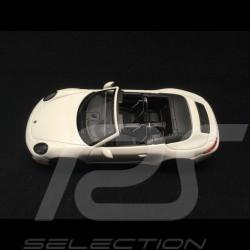 Porsche 911 type 991 Carrera GTS Cabriolet white 1/43 Schuco 450757600