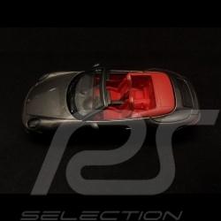 Porsche 911 type 991 Carrera GTS Cabriolet gris quartz  Agate Grey Achatgrau 1/43 Schuco 450757700