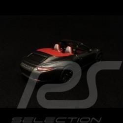 Porsche 911 type 991 Carrera GTS Cabriolet Achatgrau 1/43 Schuco 450757700