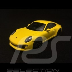Porsche 911 type 991 Carrera GTS Coupé 1/43 Schuco 450757200 Jaune Racing Racing Yellow Racing gelb