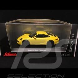 Porsche 911 type 991 Carrera GTS Coupé 1/43 Schuco 450757200 Jaune Racing Racing Yellow Racing gelb
