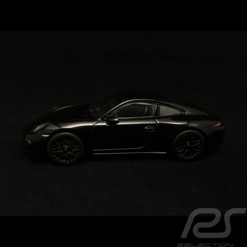 Porsche 911 type 991 Carrera GTS Coupé black 1/43 Schuco 450757100