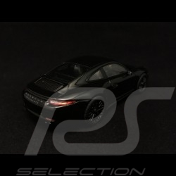 Porsche 911 type 991 Carrera GTS Coupé noire black schwarz 1/43 Schuco 450757100