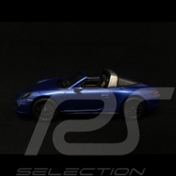 Porsche 911 type 991 Targa 4 GTS sapphire blue 1/43 Schuco 450759600
