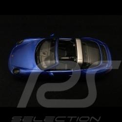 Porsche 911 type 991 Targa 4 GTS bleu saphir saphirblau sapphire blue 1/43 Schuco 450759600