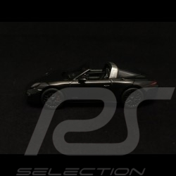 Porsche 911 type 991 Targa 4 GTS noir black schwarz 1/43 Schuco 450759700