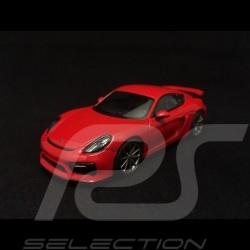 Porsche Cayman GT4 indischrot 1/43 Schuco 450759100